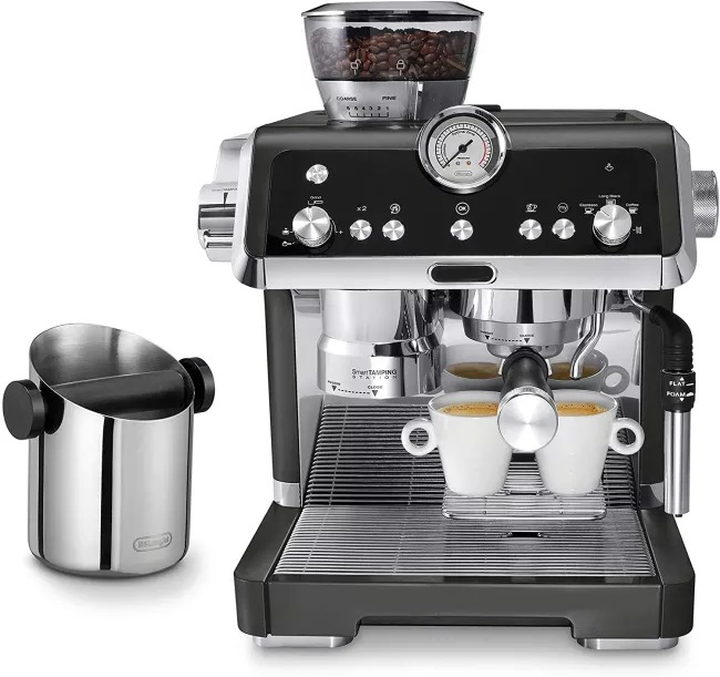 New Year Sale:Perfect espresso machine☕ = automatic grinder? + milk frother?(buy 2 get 20% off,buy 3 get 25% off)